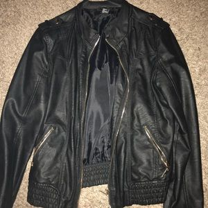 Leather jacket (forever 21)